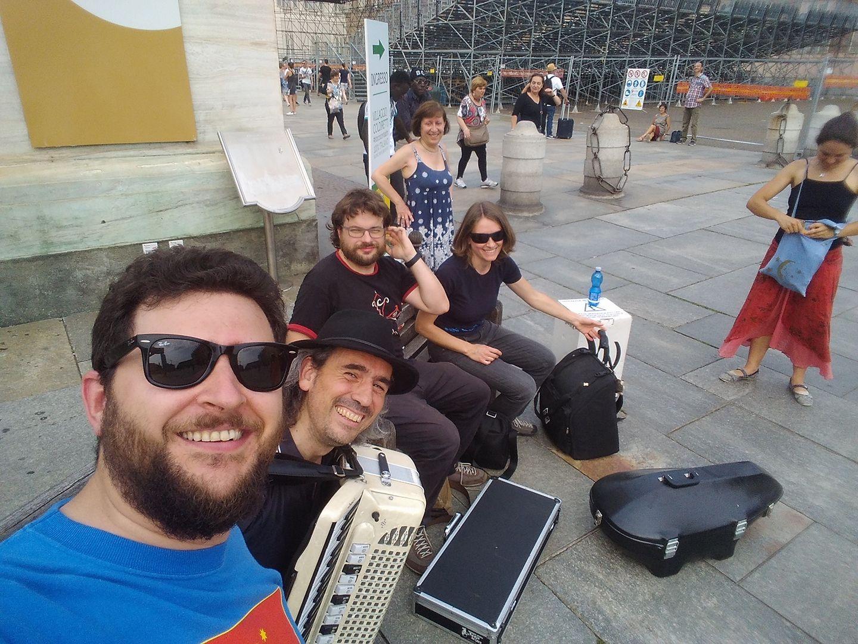 QuBa Libre in Piazza Castello (Torino)