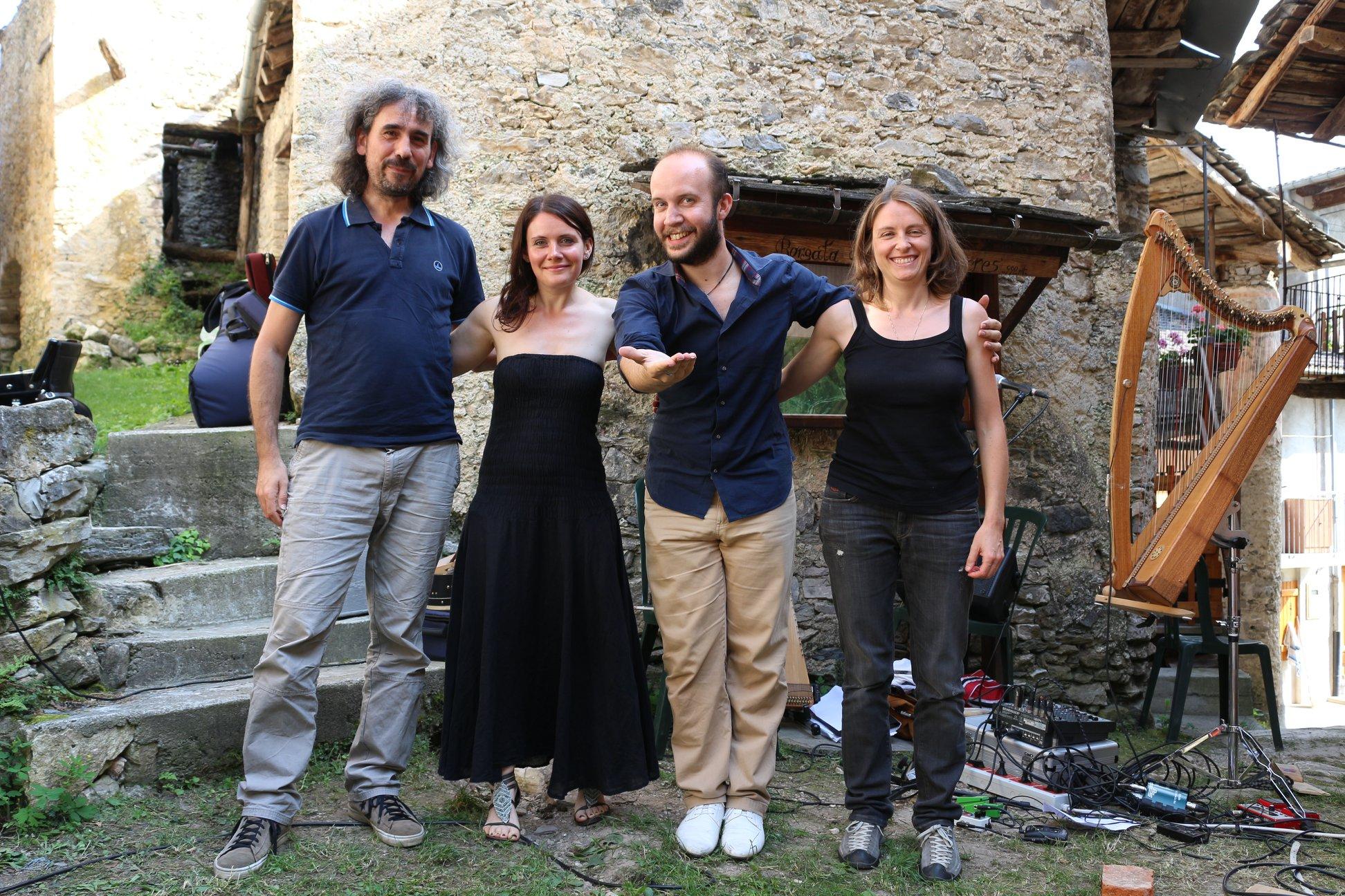 QuBa Libre e Lyradanz a Camoglieres (Valle Maira - CN)